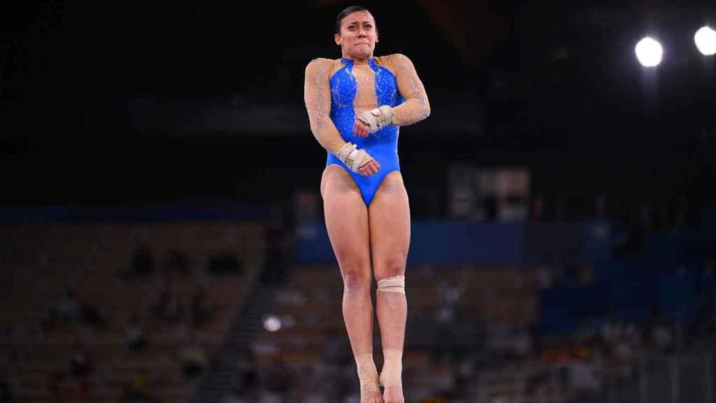 Roxana Popa, durante los Juegos Olímpicos