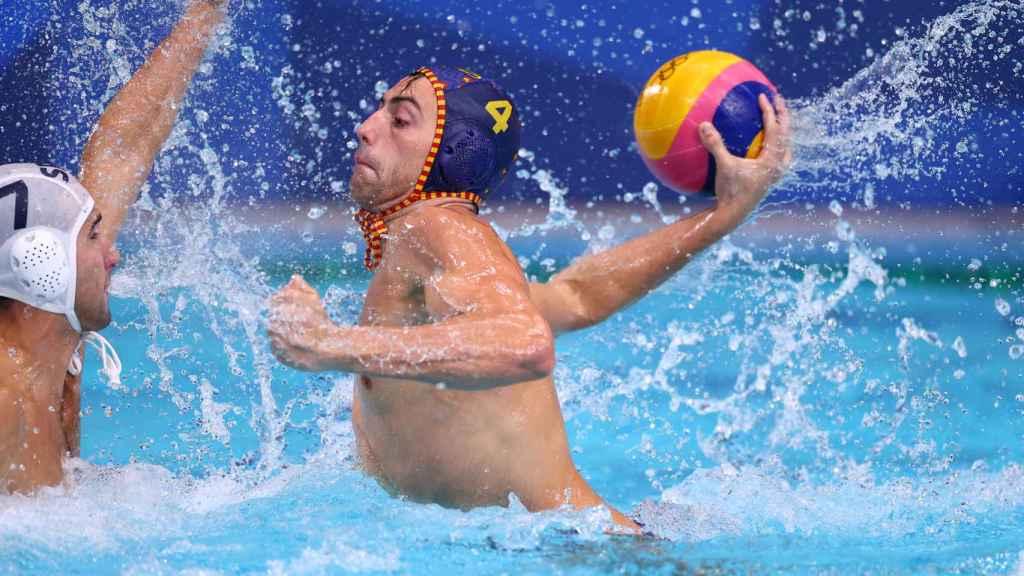 Bernat Sanahuja, durante los Juegos Olímpicos