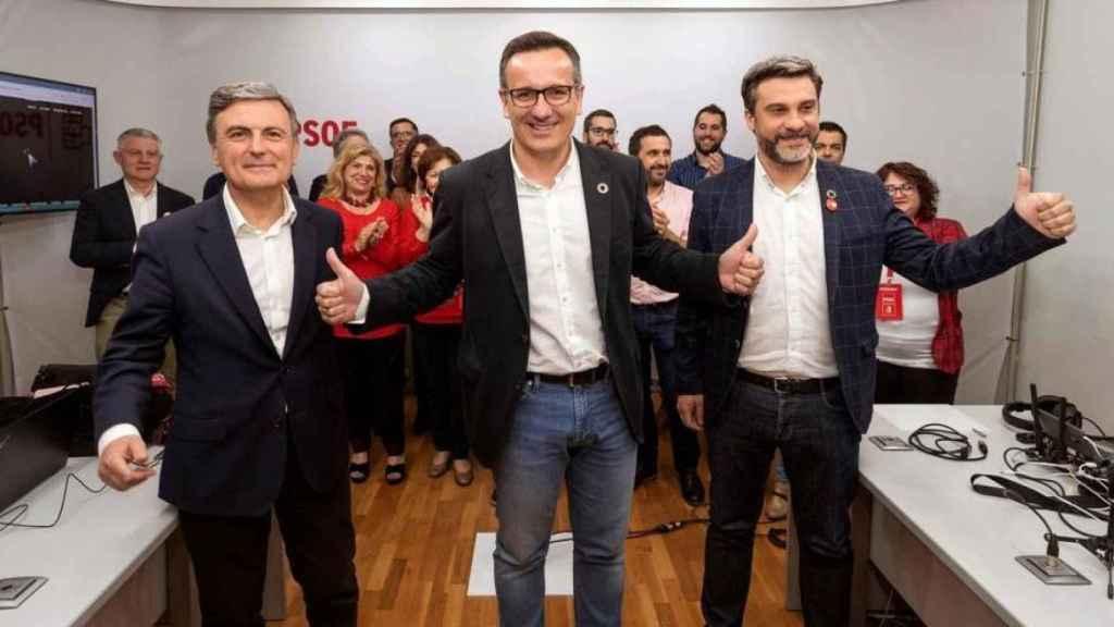 El secretario general del PSOE de la Región de Murcia, Diego Conesa.