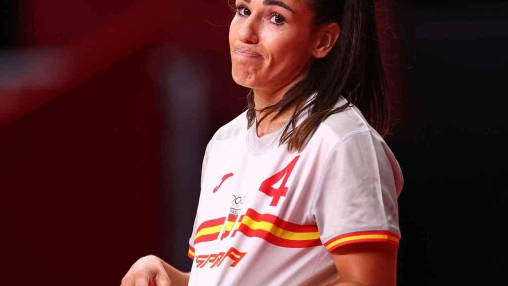 Carmen Martín, durante los Juegos Olímpicos