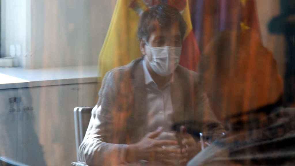 Gonzalo García Andrés, secretario de Estado de Economía y Apoyo a la Empresa, durante la entrevista concedida a Invertia.