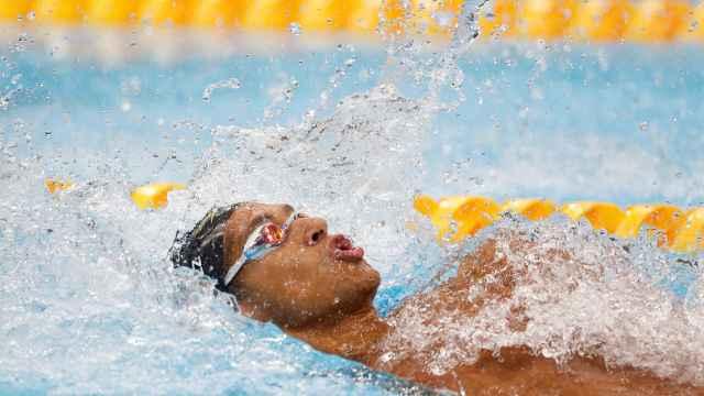 Hugo González, en los Juegos Olímpicos