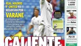 La portada del diario MARCA (26/07/2021)
