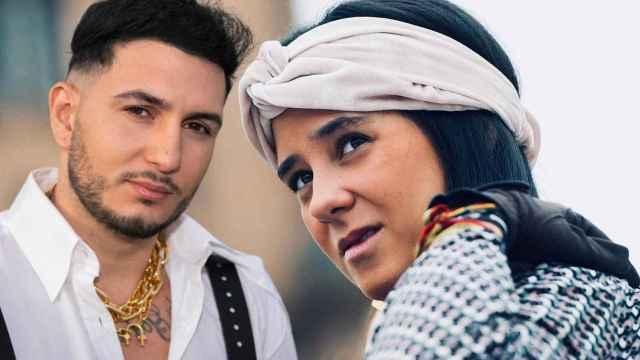 Victoria Federica y Omar Montes, en un montaje de JALEOS.