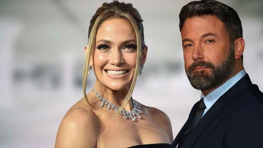 Jennifer Lopez y Ben Affleck, en una montaje de JALEOS.