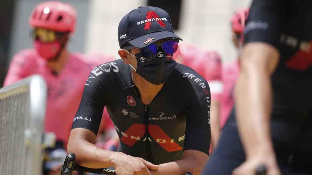 Richard Carapaz durante el Tour de Francia 2021