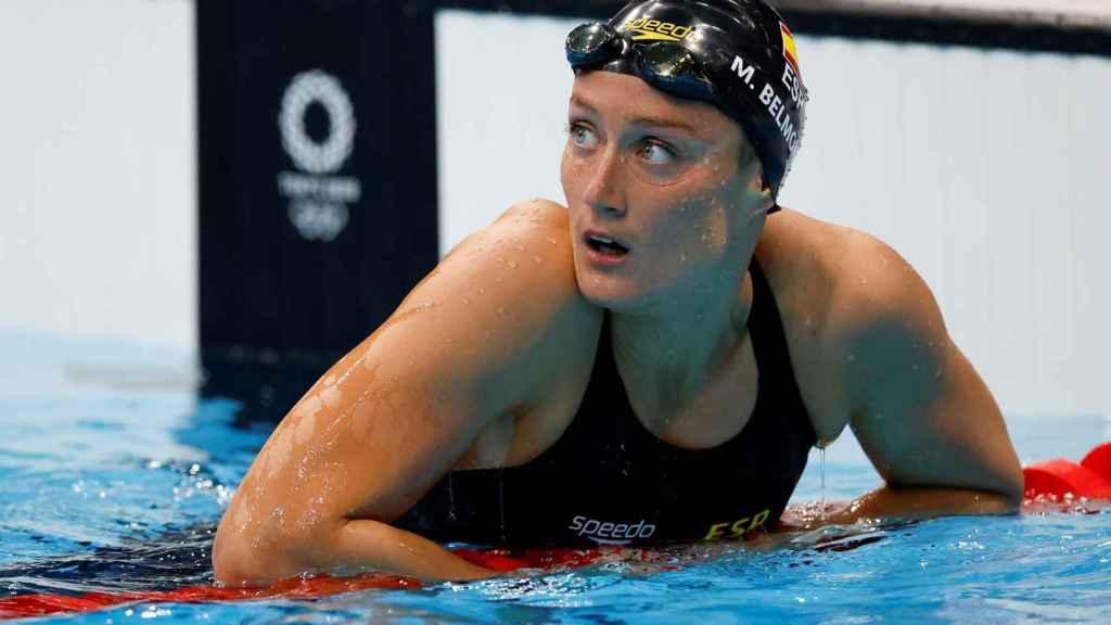 Mireia Belmonte, en los Juegos Olímpicos de Tokio 2020