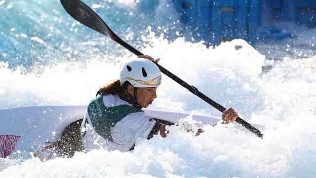 Maialen Chourraut, durante los Juegos Olímpicos