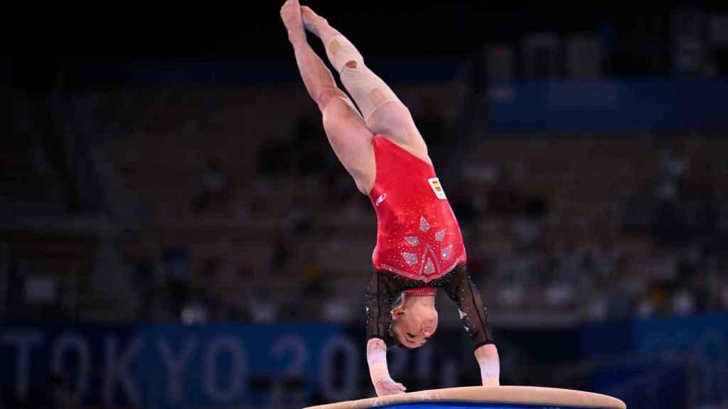 Roxana Popa, en los Juegos Olímpicos