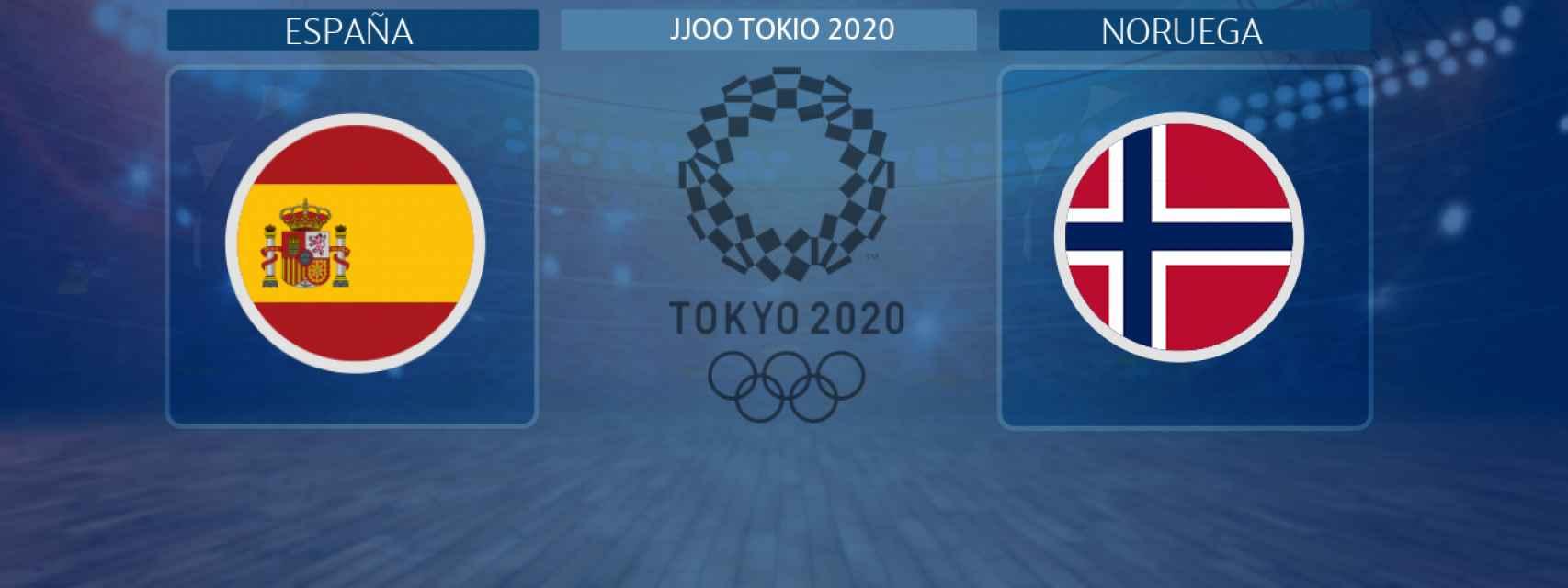España - Noruega, partido de balonmano femenino de los JJOO Tokio 2020