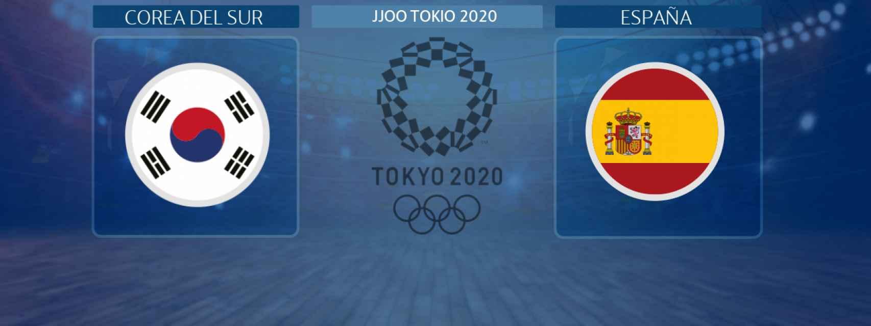 Corea del Sur - España, partido de baloncesto femenino de los JJOO Tokio 2020