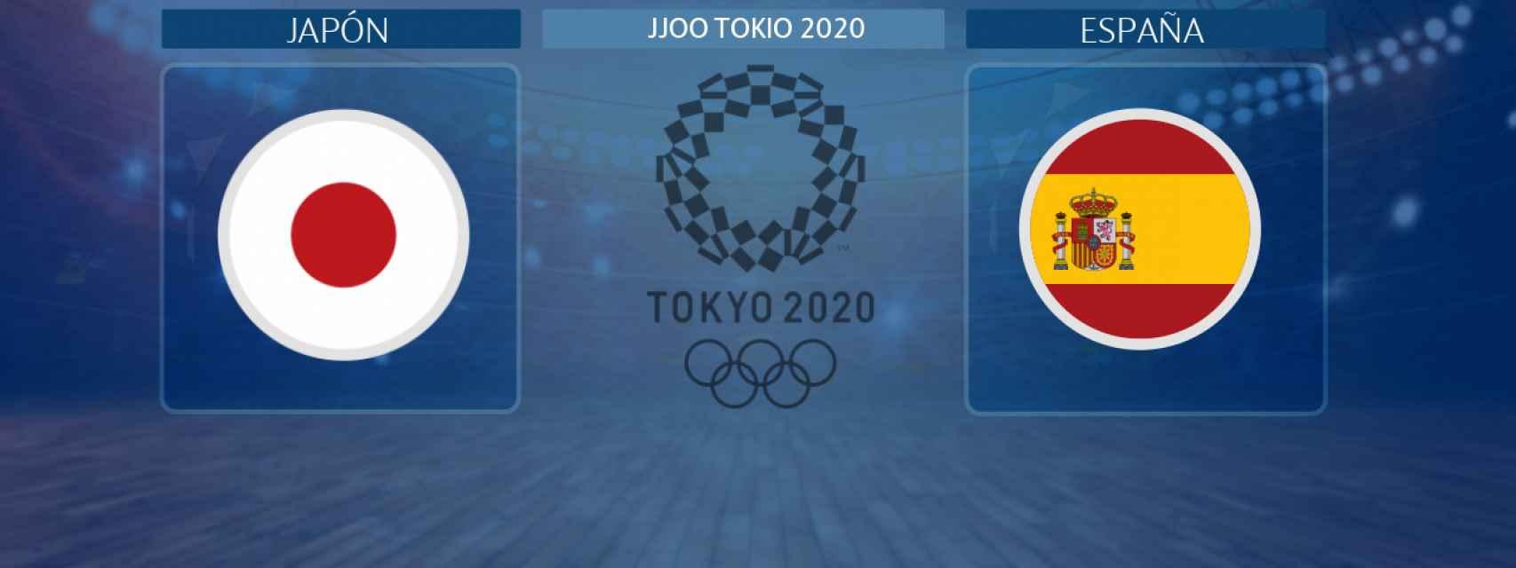 Japón - España, partido de baloncesto masculino de los JJOO Tokio 2020
