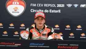 Hugo Millán, piloto de la European Talent Cup de motociclismo