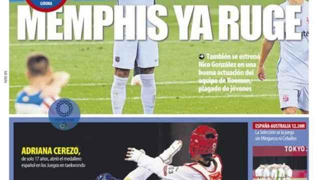 Portada Mundo Deportivo (25/07/21)