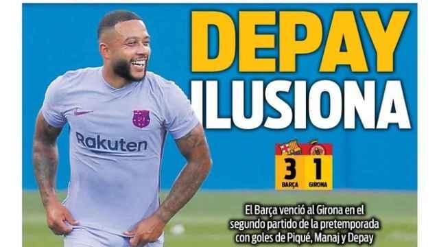 Portada Sport (25/07/21)