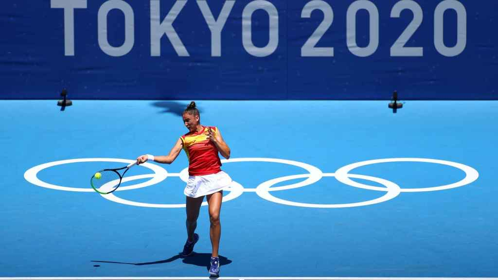 Sara Sorribes, en los Juegos Olímpicos de Tokio 2020