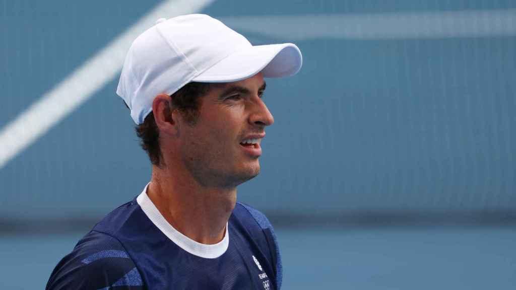 Andy Murray, en los Juegos Olímpicos de Tokio 2020