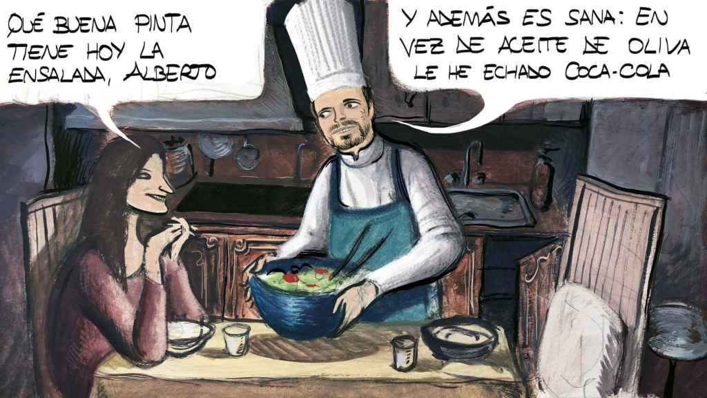 'Garzón, el chef'.