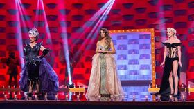 Killer Queen, Carmen Farala y Sagittaria en 'Drag Race España'