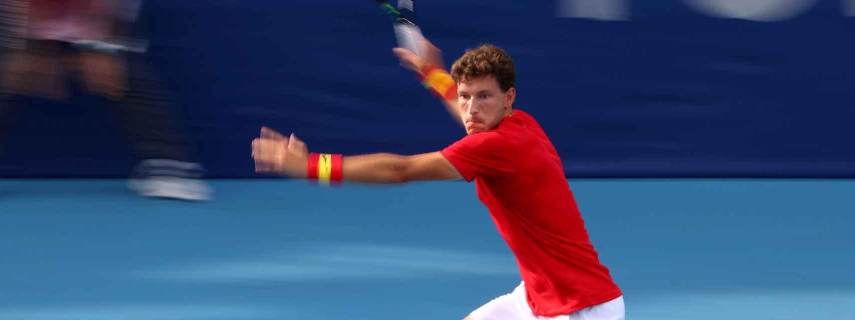Pablo Carreño, en los Juegos Olímpicos