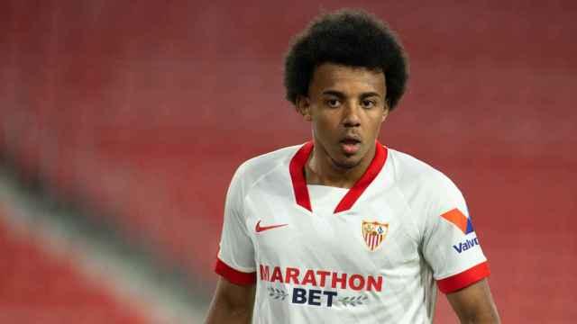 Jules Kounde, con el Sevilla CF