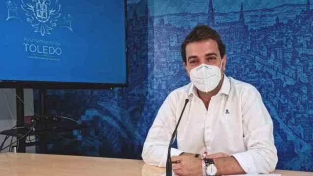 El concejal de Juventud del ayuntamiento de Toledo, Pablo García