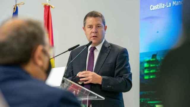 El presidente de Castilla-La Mancha, Emiliano García-Page, en Albacete (Foto: JCCM)