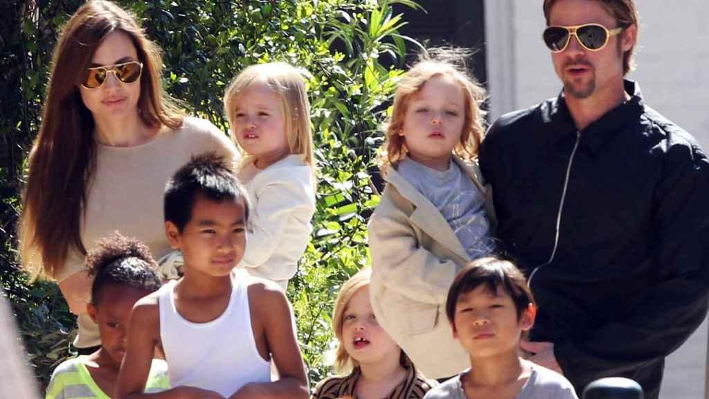 Una foto de la familia, en 2011