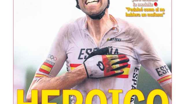 La portada del diario AS (27/07/2021)