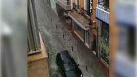 En Novelda, como otras ciudades de la provincia, se han batido récords de lluvias.