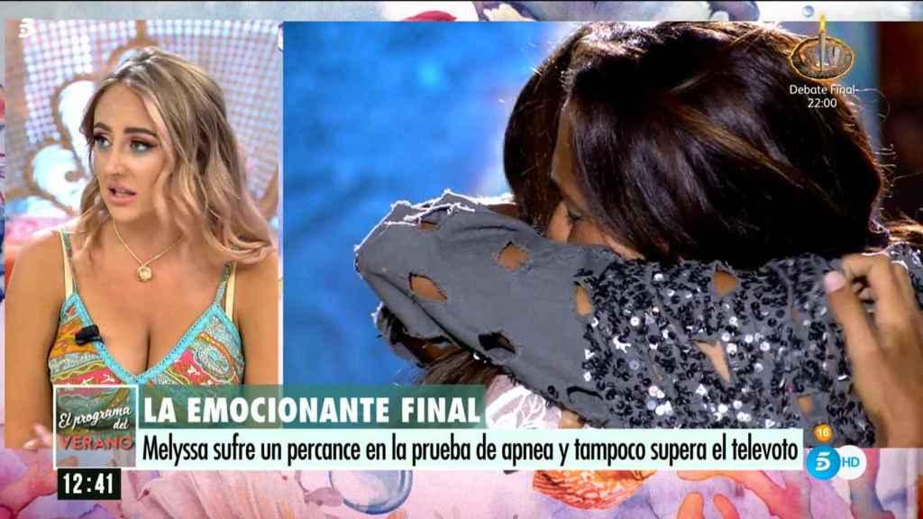 Rocío Flores ha valorado la victoria de Olga Moreno en 'Supervivientes 2021'.