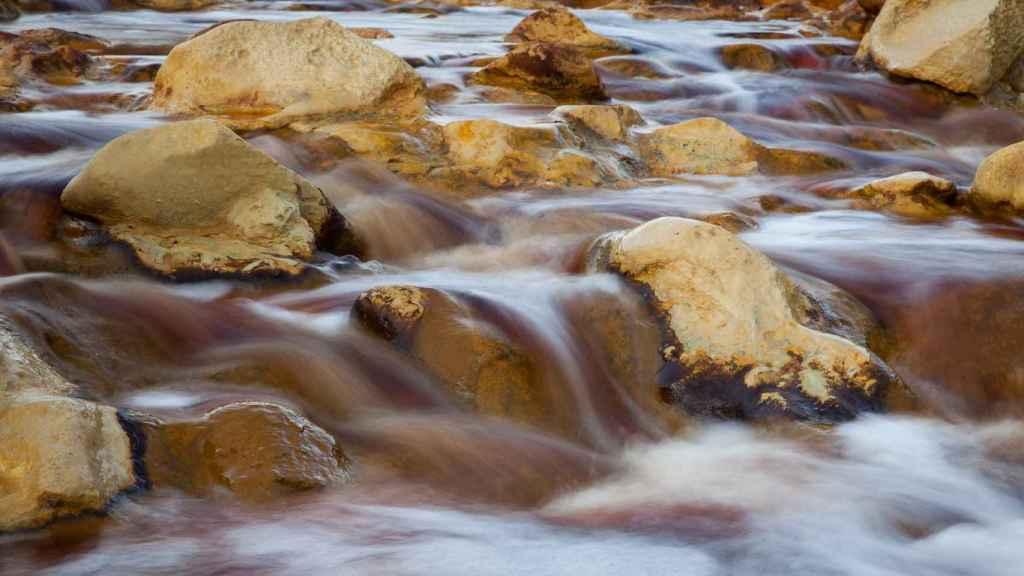 Imagen del río Tinto, en Huelva