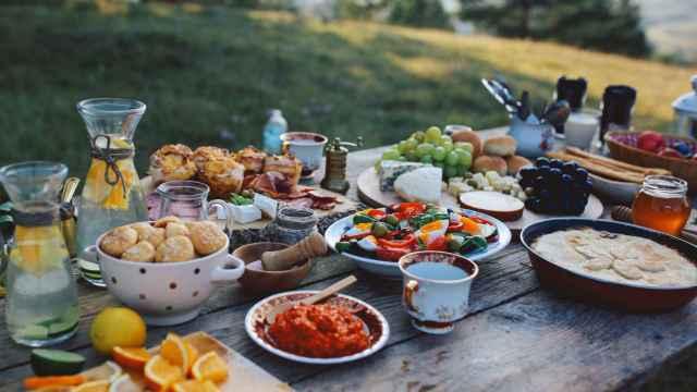 La dieta mediterránea.