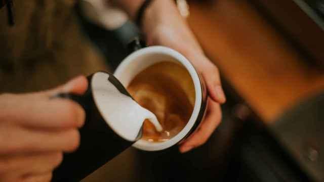Imagen de archivo de un café.