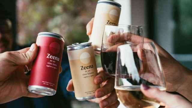 Zeena, líder en vino enlatado.