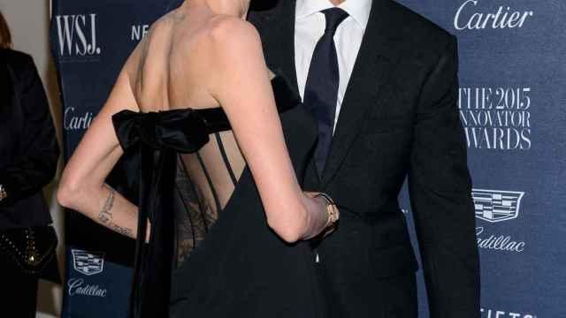 Angelina Jolie y Brad Pitt, en una imagen de cuando eran pareja.