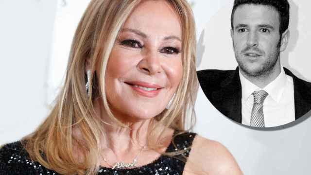 Ana García Obregón en montaje de JALEOS junto a su hijo Álex Lequio.