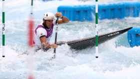 Ander Elosegi, durante los Juegos Olímpicos
