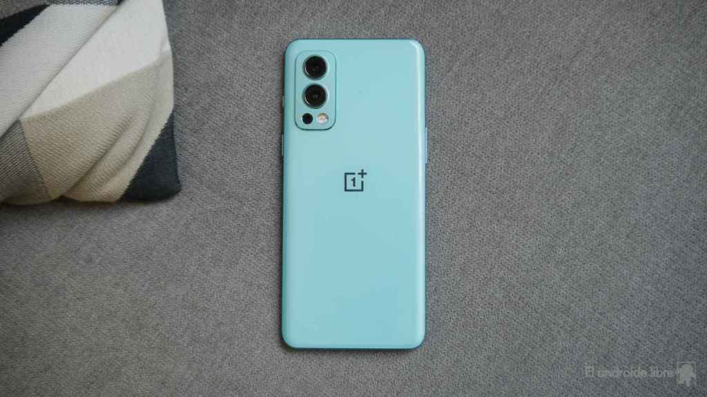 Trasera del OnePlus Nord 2