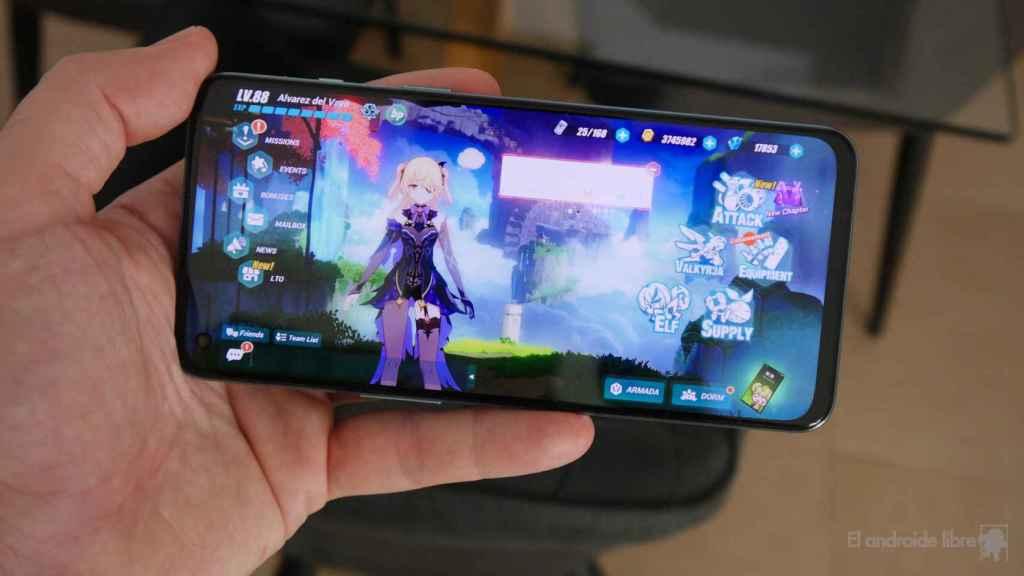 Honkai Impact Third en el OnePlus Nord 2