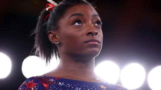 Simone Biles, en los Juegos Olímpicos de Tokio 2020