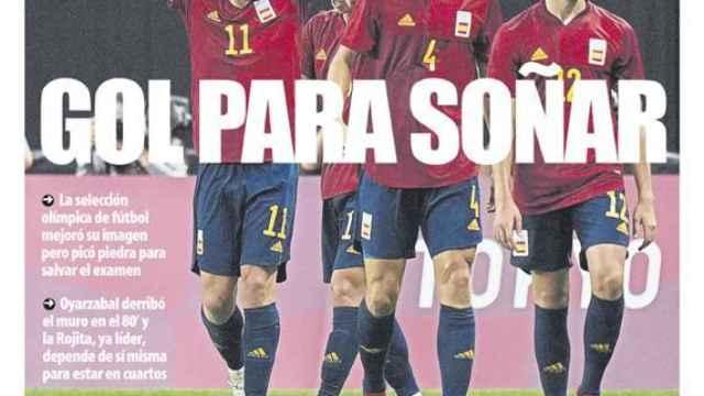 Portada Mundo Deportivo (26/07/21)