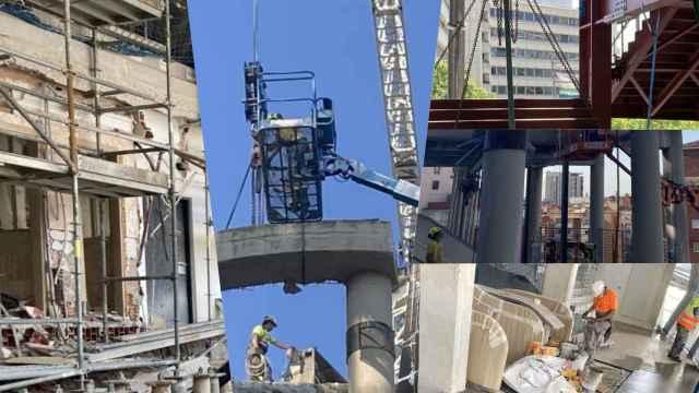El Santiago Bernabéu sigue cogiendo forma para volver a tener público: avances en los accesos