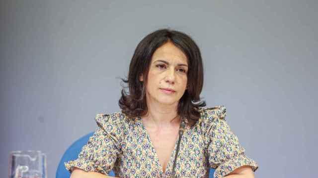 La secretaria de Estado de Sanidad, Silvia Calzón, durante una rueda de prensa para informar sobre la Covid-19.