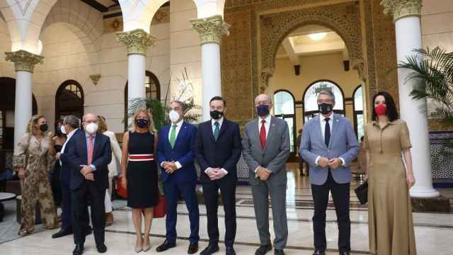 El mundo de la política y la empresa acompañan a EL ESPAÑOL de Málaga en su presentación