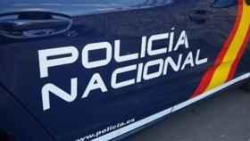 Una imagen de archivo de un coche de Policía Nacional.