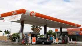 FILE PHOTO: View of a petrol station of GALP company near Lisbon