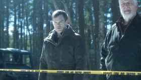 Michael C. Hall y Clancy Brown en la temporada 9 de 'Dexter'.