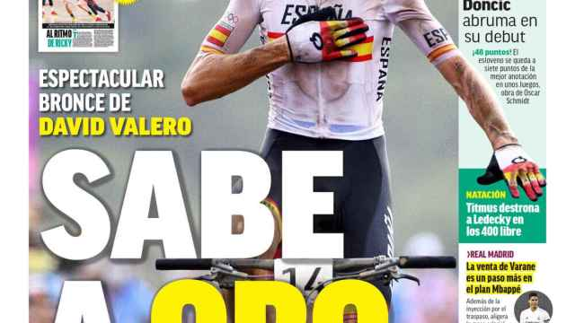 La portada del diario MARCA (27/07/2021)