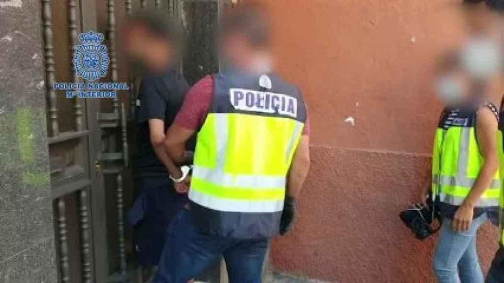 Imágenes de la detención en Madrid